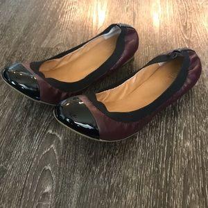 ✨J Crew✨ Mila Cap Toe Ballet Flats Size 10